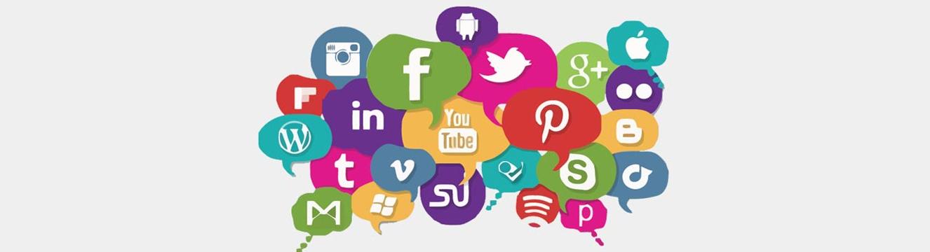 Rede sociais e sites